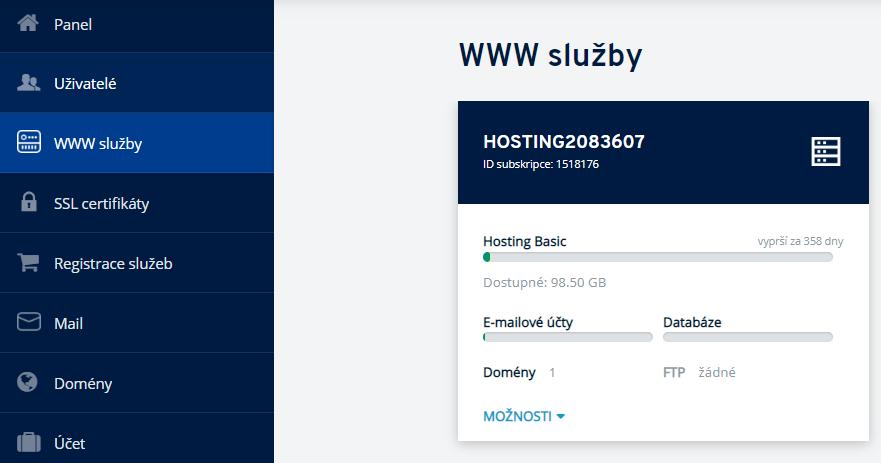Jak přidat e-mailovou schránku u hostingu?