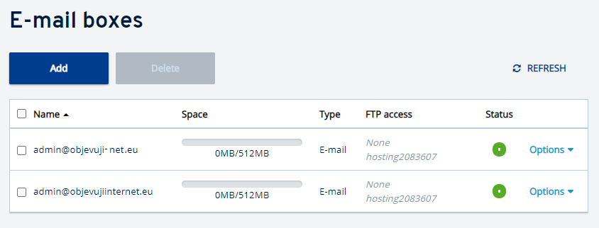 Co je funkce Multimail u serverů v IONOS?