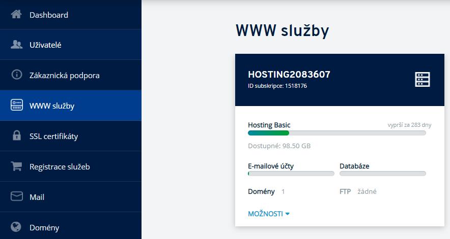 Jak nainstalovat SSL certifikát na hosting v IONOS?